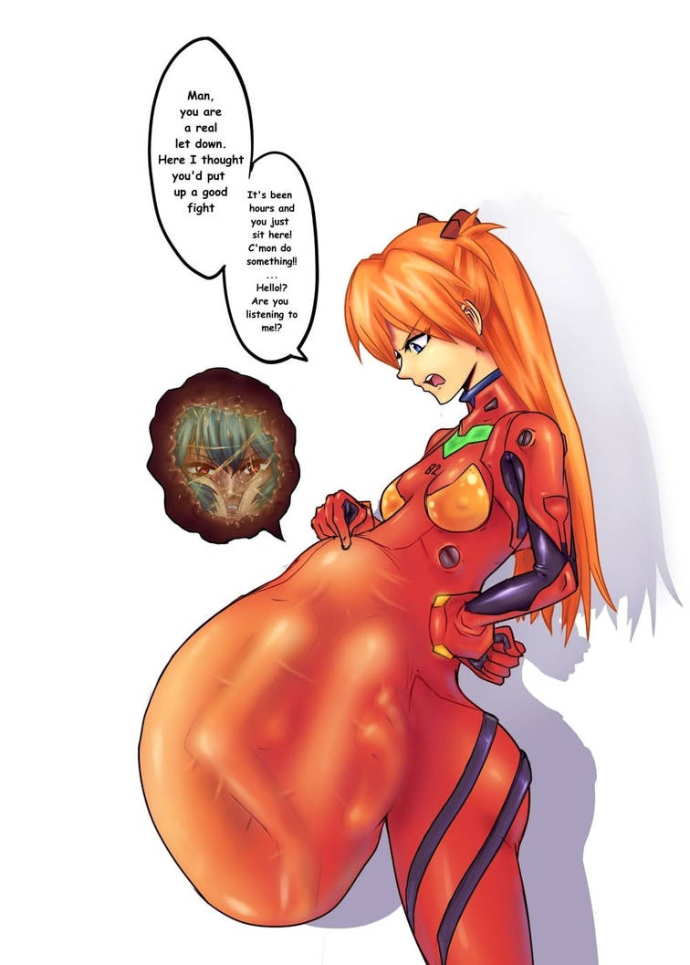 Asuka Vore by UnkownVore