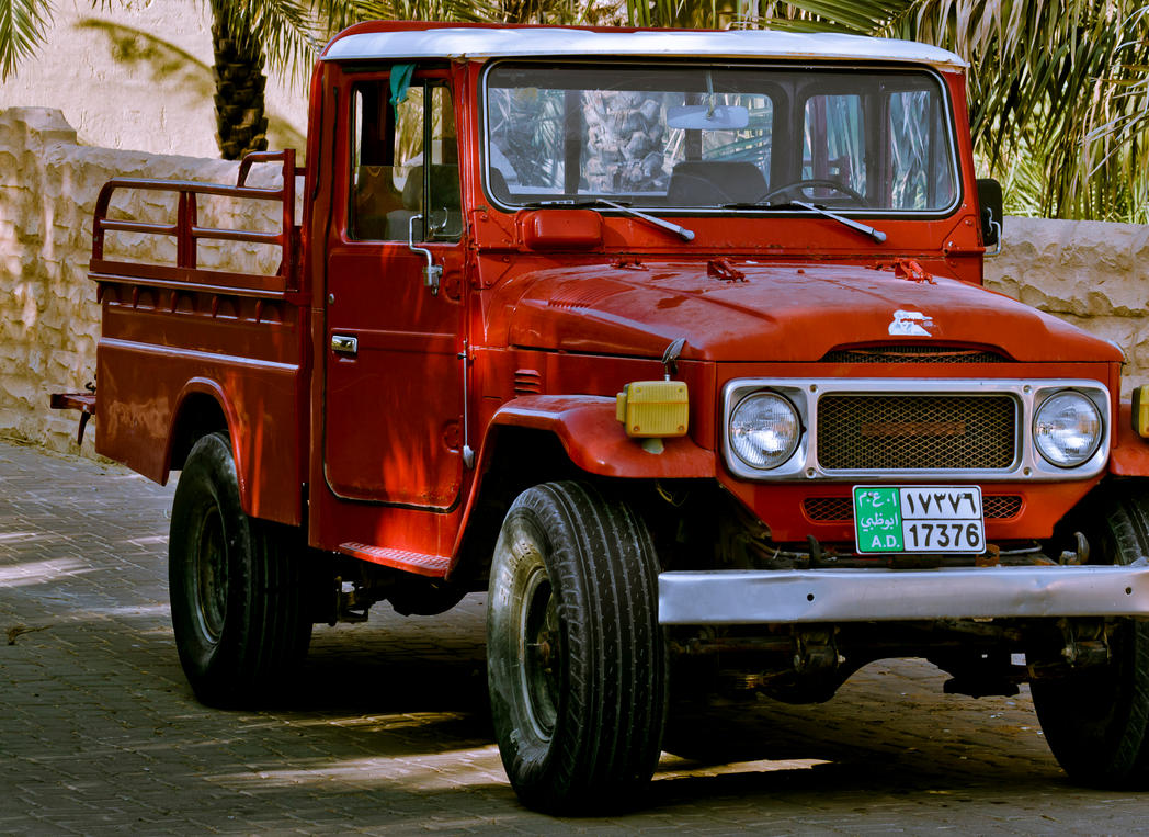 Old Toyota Land Cruiser Pickup 3 By JamesDubai ...