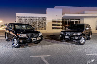 Nissan VS Toyota by JamesDubai