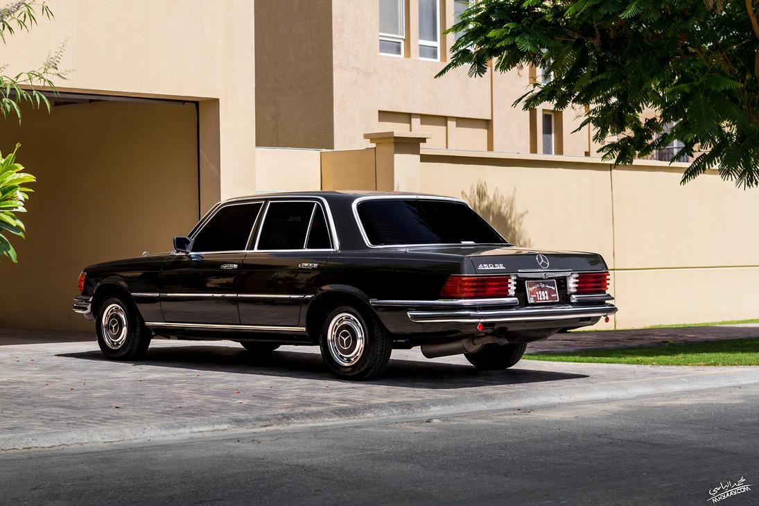 mercedes benz 450se by jamesdubai on deviantart. Black Bedroom Furniture Sets. Home Design Ideas