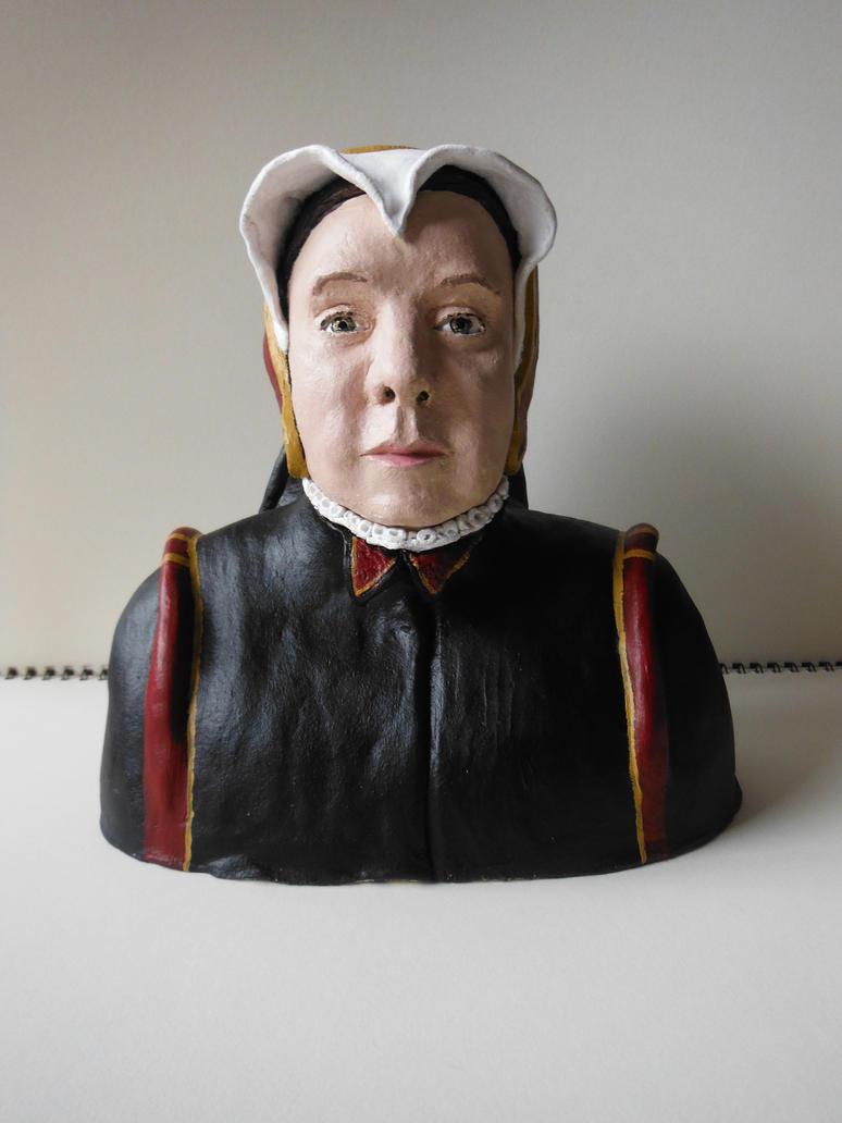 bust of me as an elizabethian by dunklesa