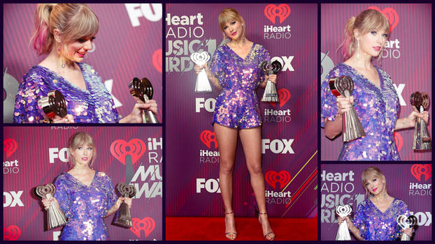 Taylor Swift iheart award collage by Devilfish89
