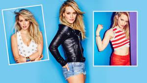 Hilary Duff 2015 cosmo wall 1440p