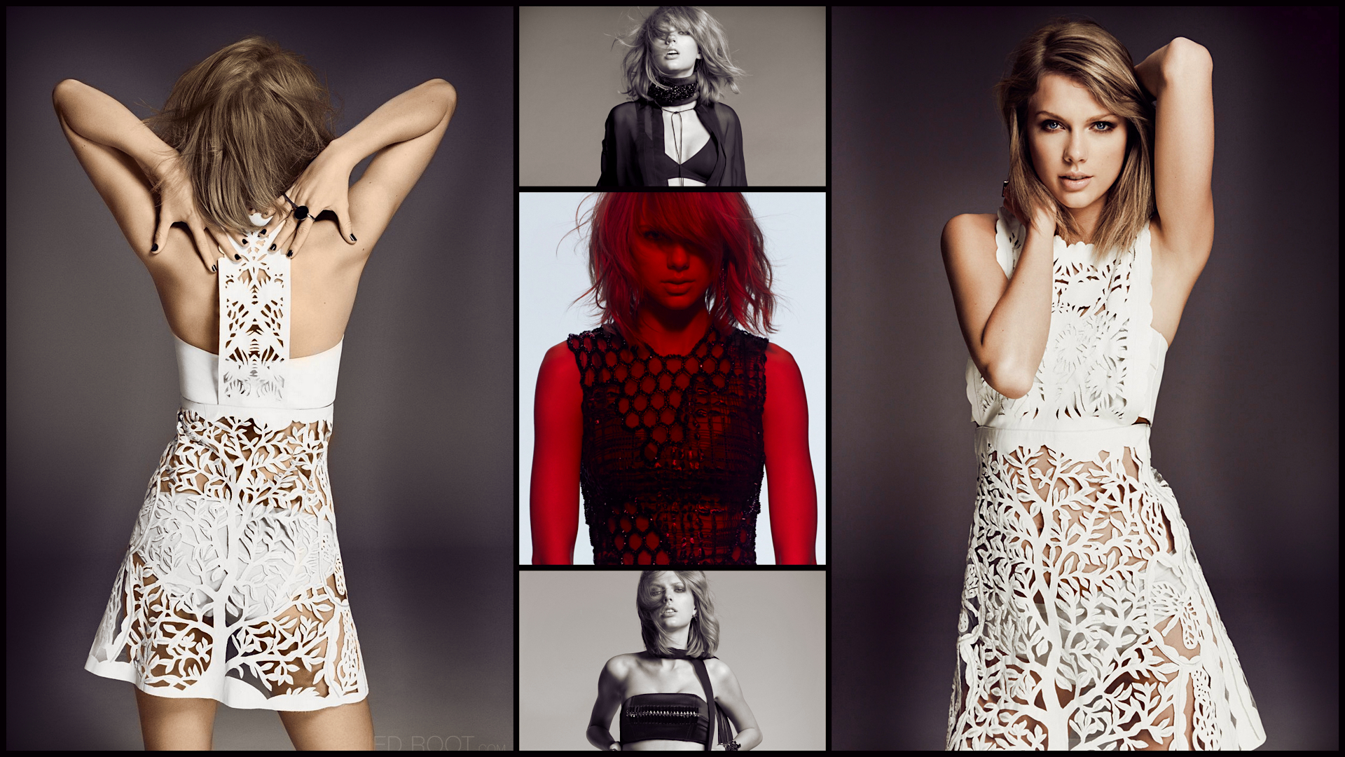 Taylor Swift 2015 Glamour Uk Collage 1080p By Devilfish89 On Deviantart