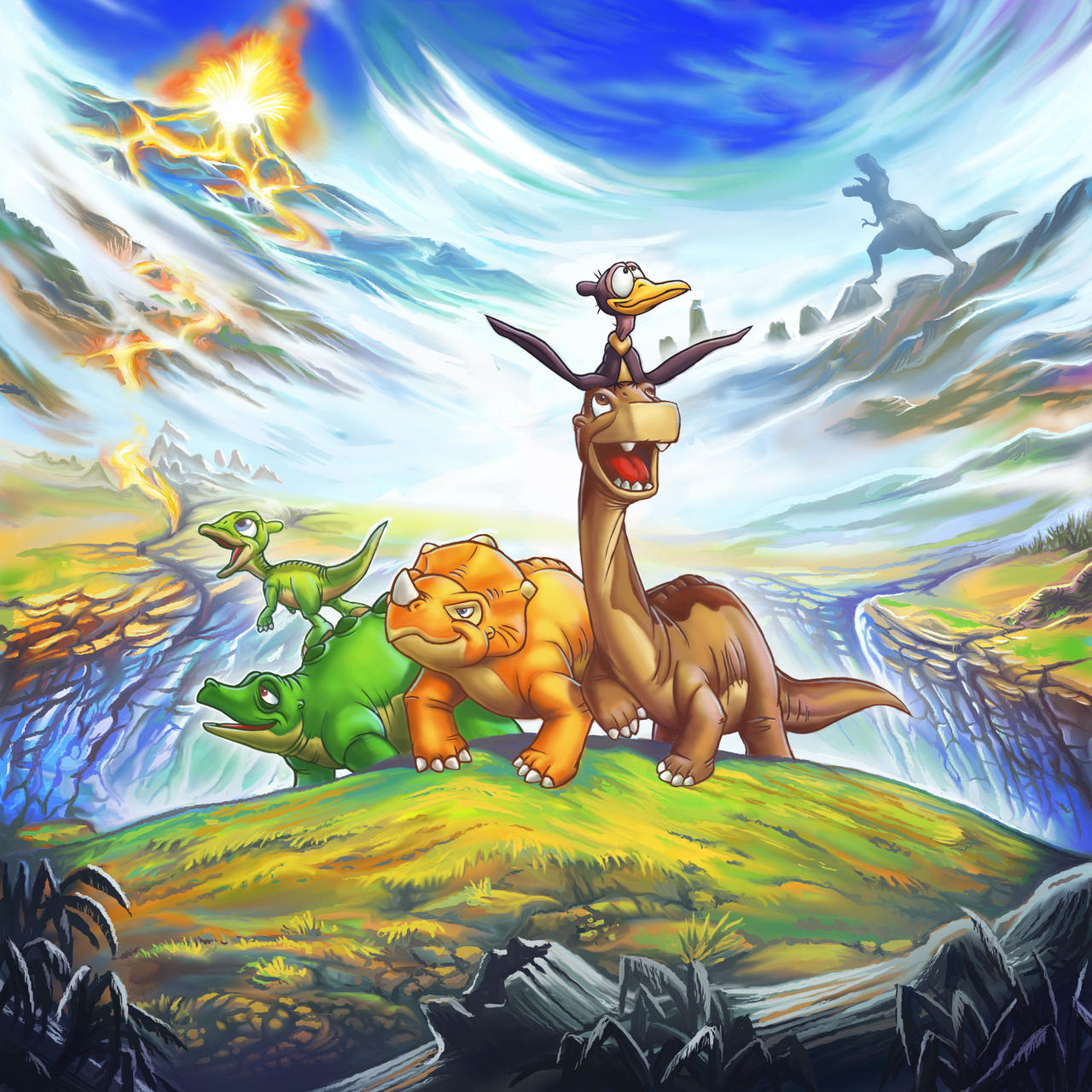 the land before time by emilystepp on deviantart