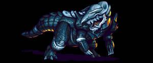 Aggron (Monster Hunter Style)