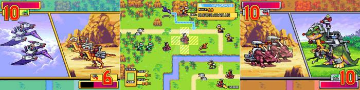 Dino-Riders Tactics
