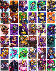 The Thirty-Six FanArts of 2020
