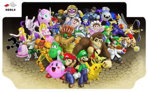 Smash Bros. DS Lite decal by SovanJedi