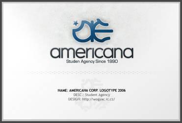 Americana Corp. Logotype 2006 by wogyac