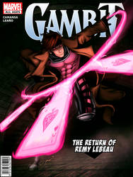 Gambit comic Cover by ryancamansa