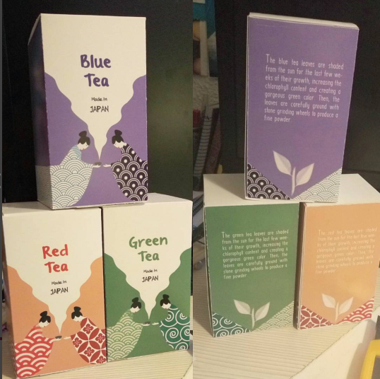 Tea Packaging Design by marinalemon