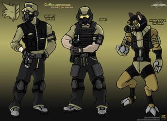 ClyRex Corporation Unit concept 1 by TyranneDragon
