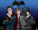 Batman v Superman fanart