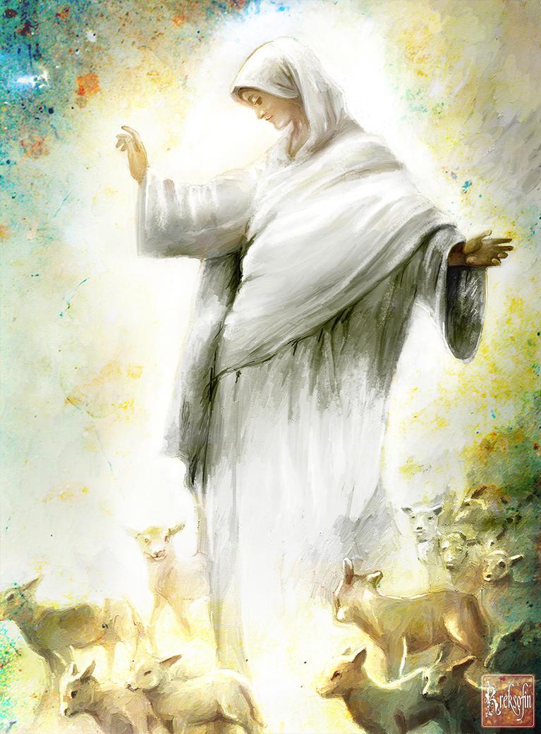 The bride of Christ by KreksofinArt