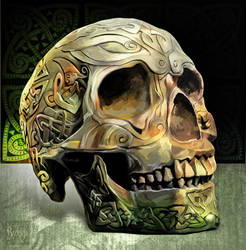 Skull by KreksofinArt