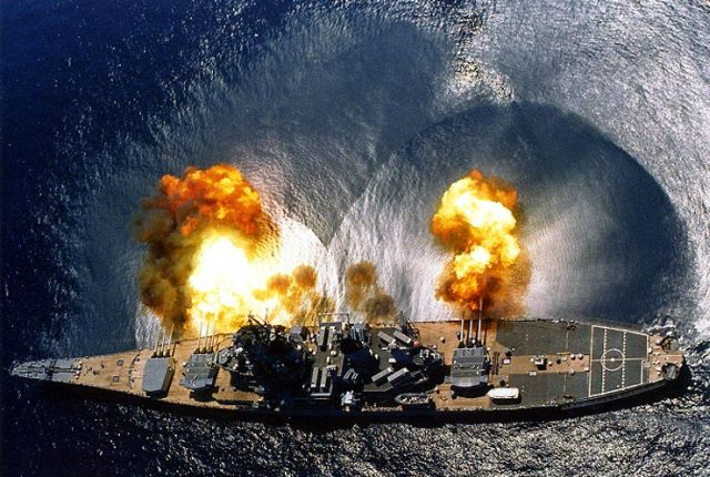 Image result for iowa class battleship wallpaper