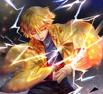 Zenitsu Fight