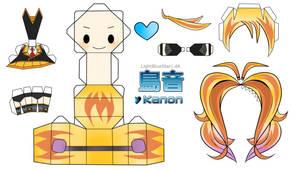 Kanon Papercraft by LightBlueStar