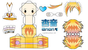Anon Papercraft by LightBlueStar