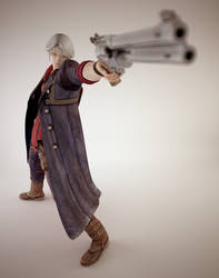 Devil May Cry : Gun by TiagoTavares