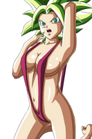Kefla cute tits - Dragon  Ball Super by StrikerKiller19
