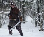Witch hunter larp costume