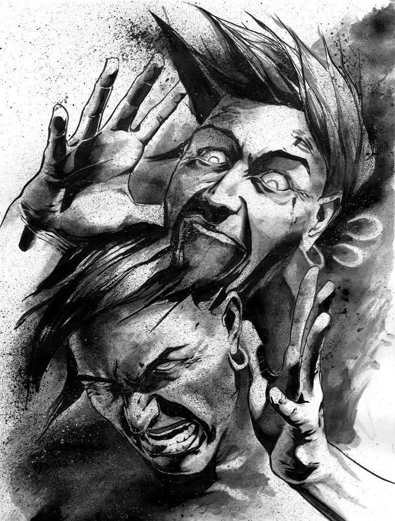 Schizophrenia by ValerioBefani on DeviantArt