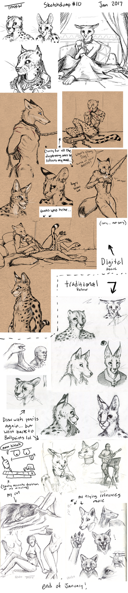 Sketchdump #10 by TitusW