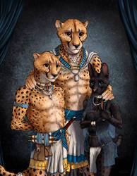 Lue'maar Family Portrait by TitusWeiss