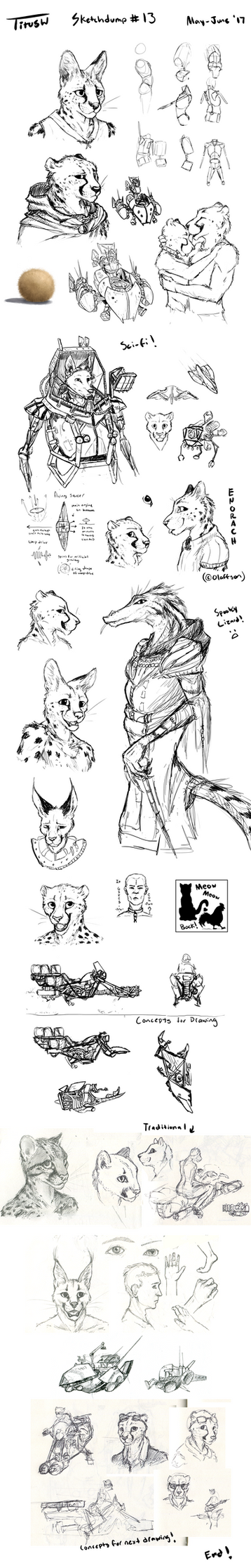 Sketchdump #13 by TitusW