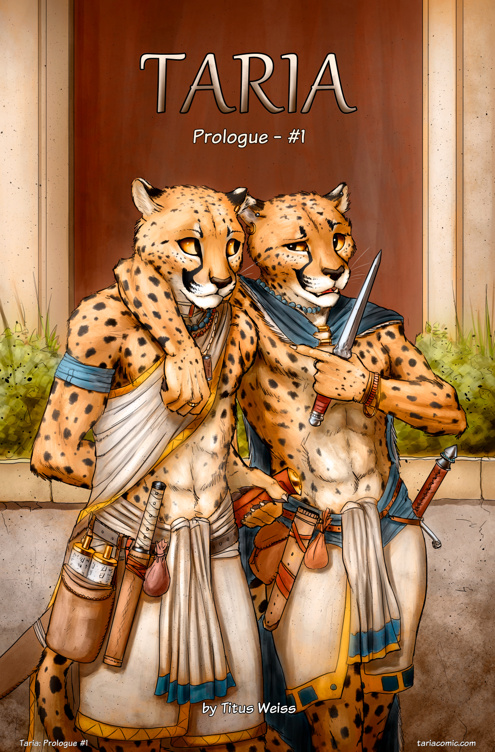 Taria: Prologue #1 Cover by TitusWeiss