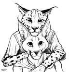 Kari and Shadi Sketch