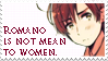 He is not a misogynist. by felicianose-art