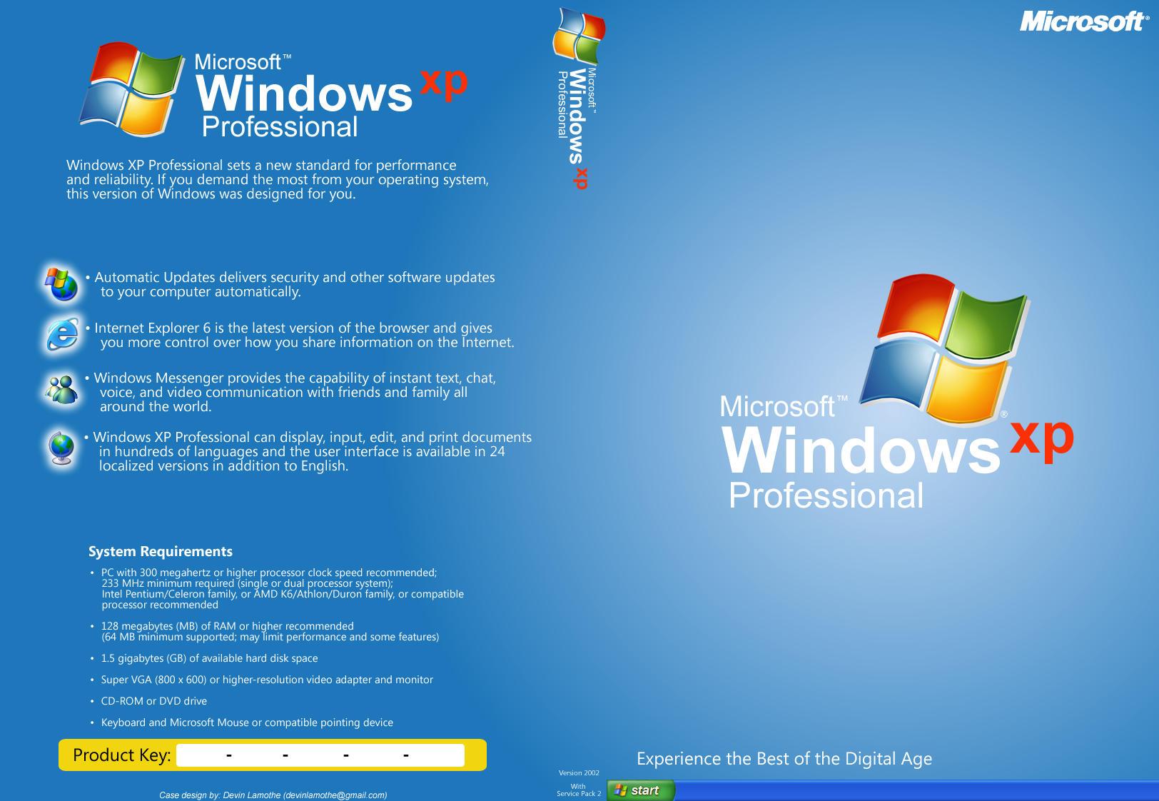 windows xp 64 bit ita