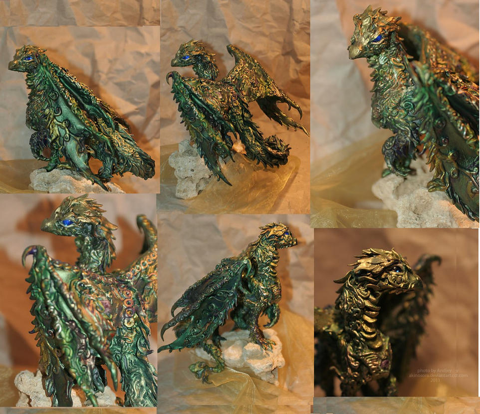 Big Forest dragon by kessan