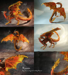 fire dragon by kessan