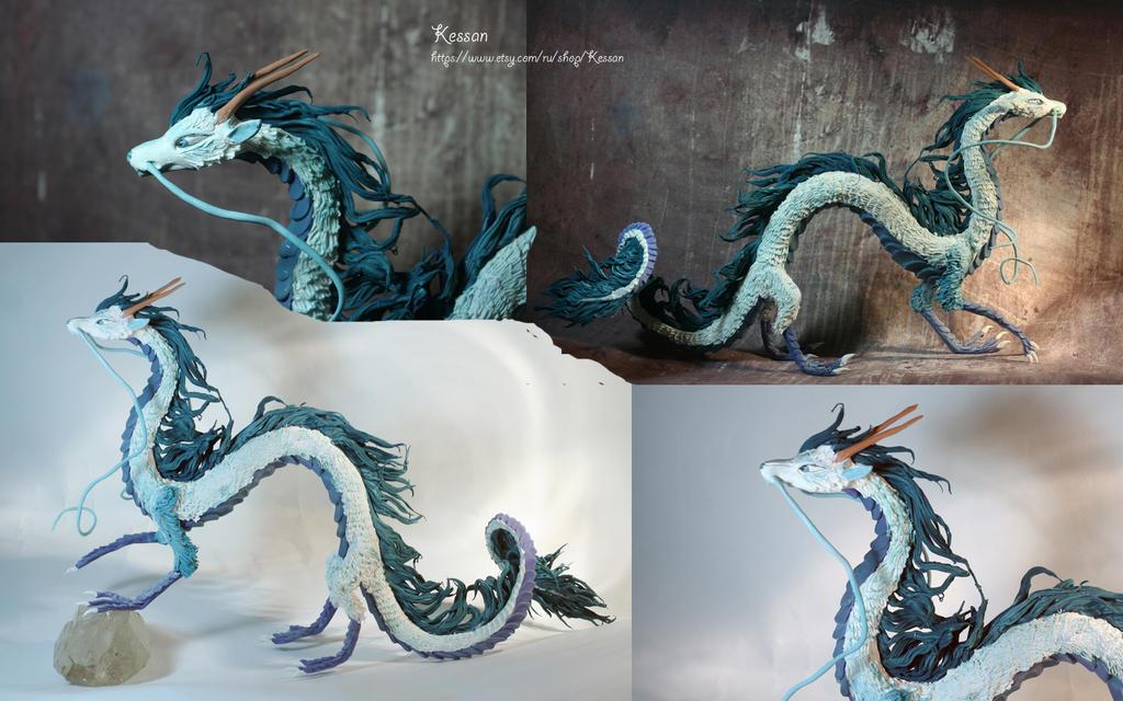 Dragon Haku from Spirited away by kessan on DeviantArt