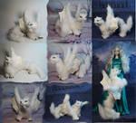 White dragon-cat by kessan