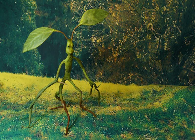 Bowtruckle Pickett - Fantastic Beasts by kessan