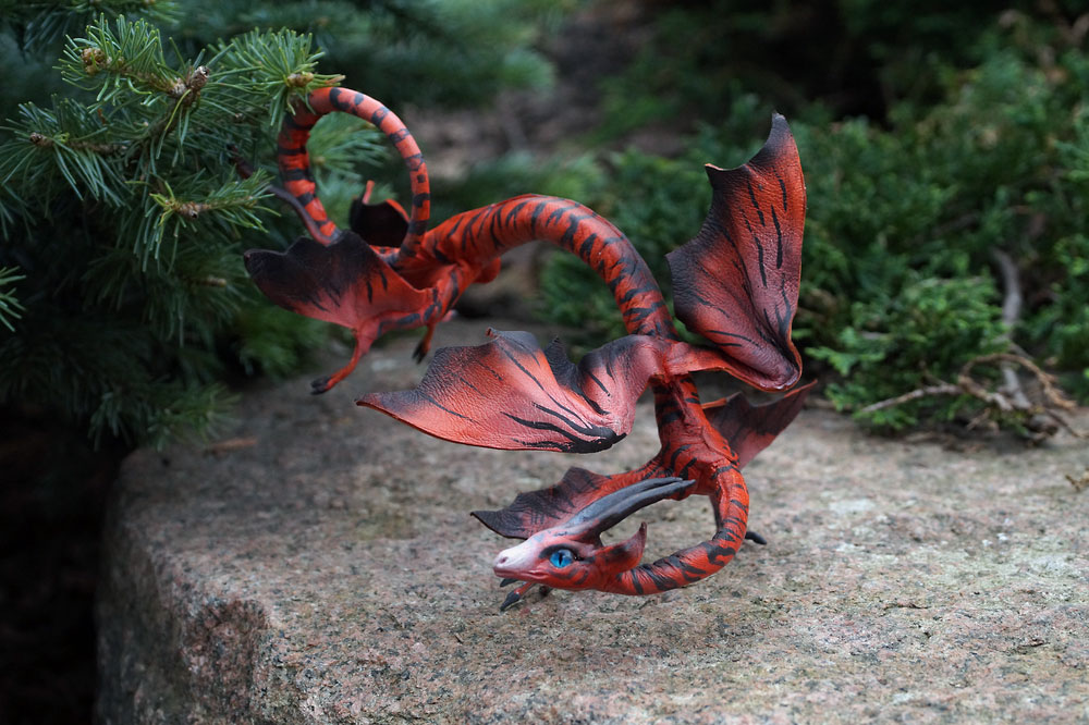 spiral dragon from Flightrising by kessan on DeviantArt