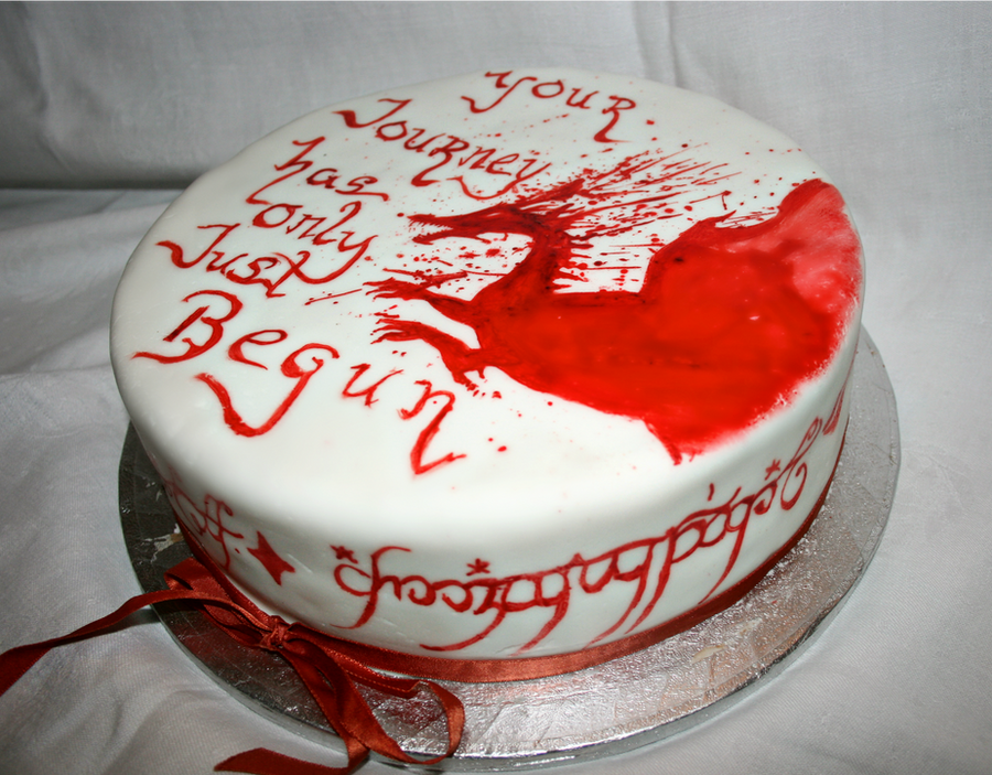 Dragon Age Lord Of The Rings Cake By Star Shine Girl On Deviantart