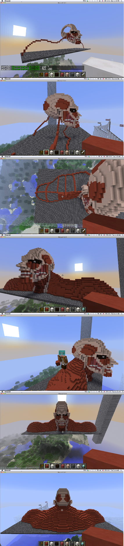 Minecraft Attack On Titan Jean Skin Minecraft - colossal titan