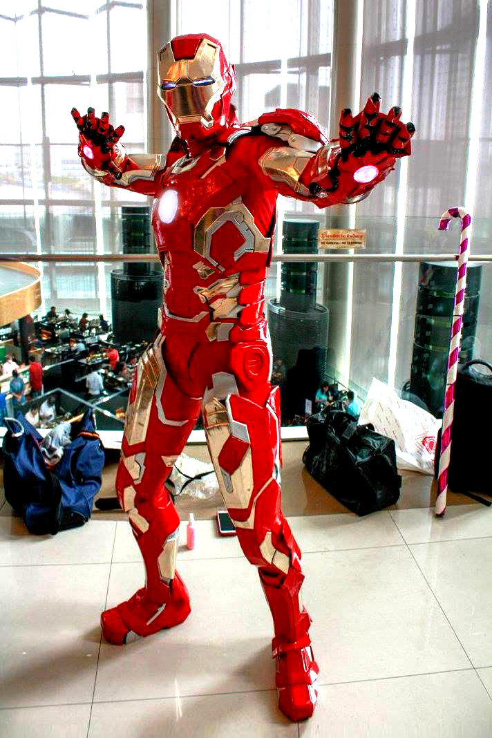 Iron Man Mark 43 Cosplay By Oucd45 On Deviantart