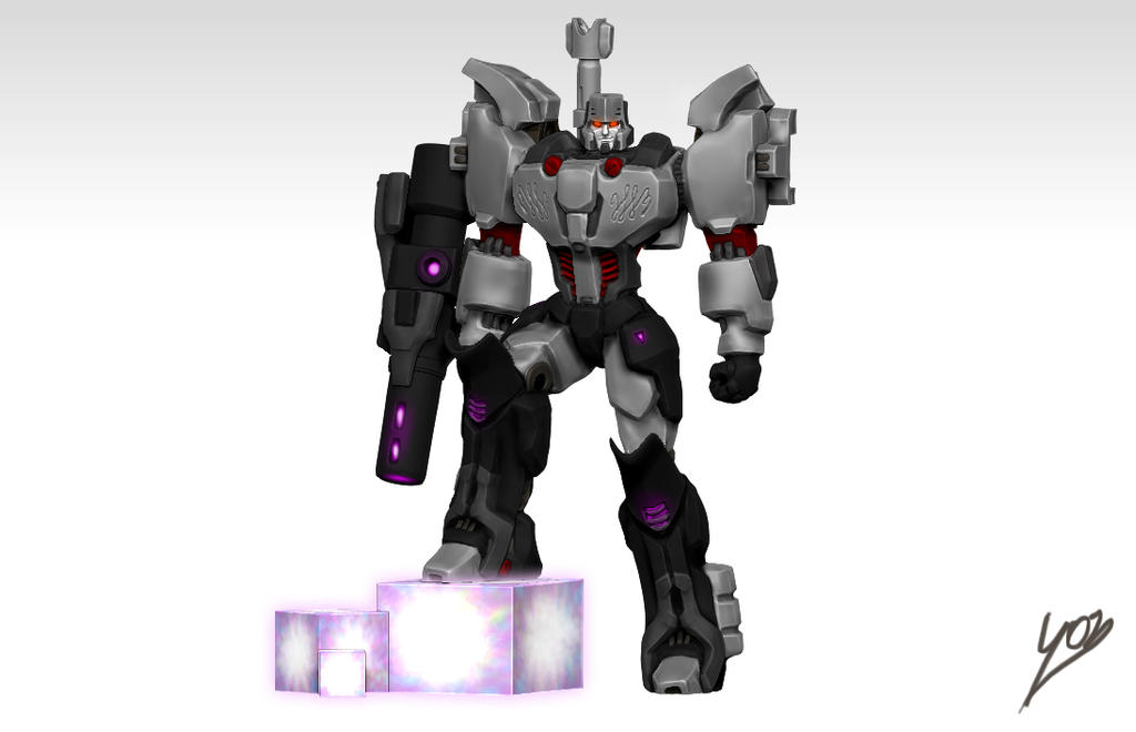 Megatron IDW by oucd45