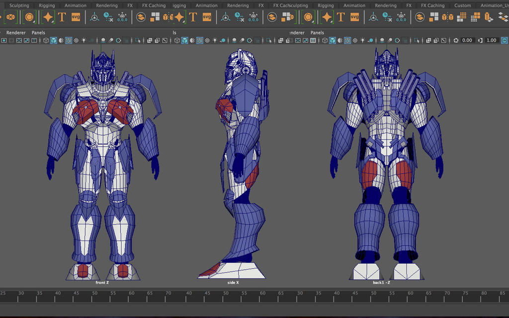 Optimus Prime costume project 2 by oucd45