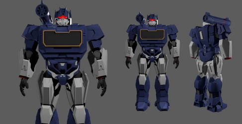 Soundwave (Bumblebee) suit file #2 by oucd45
