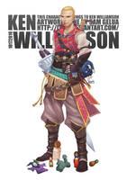 Commission: Ken Williamson by lires
