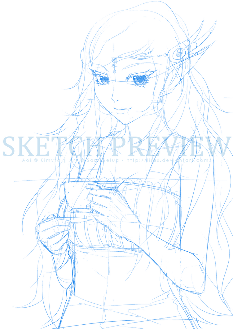 Commission: Fiell WIP by lires