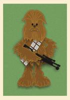 Felt Chewbacca - What a Wookie!! by sPexXy